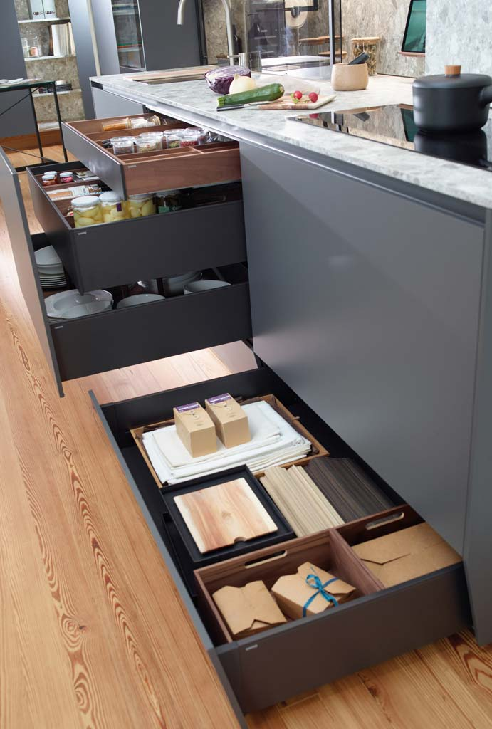 Cajón contenedor de almacenamiento - Coleeción Santos
